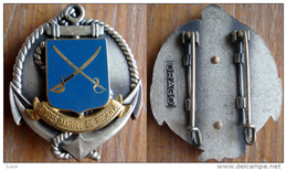 Insigne De Beret Unités MARINE RESERVE Fusiliers Marins NEUF - Marine