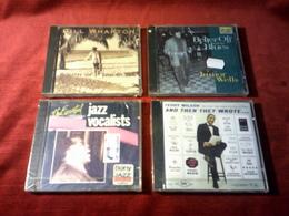 COLLECTION DE 4 CD ALBUM DE JAZZ ° BILL WHARTON + TEDDY WILSON + JUNIORS WELLS + THE ESSENTIAL JAZZ VOCALISTS - Music & Instruments