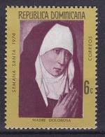 Dominikanische Republik, 1974. 27 Juni Heilige Woche, Mi: 1060 - Christianisme