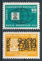 °°° TURKEY - Y&T N°1522/23 - 1960 MNH °°° - 1921-... Repubblica