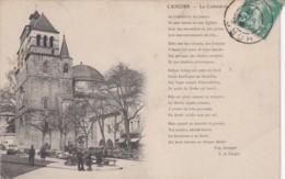 CPA CAHORS La Cathédrale Belle Carte 1912 (lot Pat 65) - Cahors