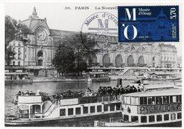 Carte Maximum France 1986 -  Musée D'Orsay -  YT 2451 - Paris - Maximum Cards