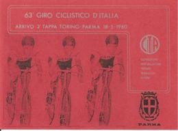 ITALIA - 1980 PARMA  63° Giro Ciclistico D'Italia 3^ Tappa Torino-Parma Su Cartolina Speciale - Ciclismo