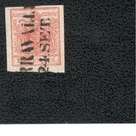 LOMBARDY-VENETIA1850: Michel 3x Used - Lombardy-Venetia