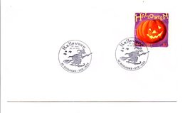 FDC 2001 HALLOWEEN - BOULOGNE SUR MER - FDC