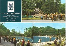 ITALIA - 1968 PARMA 1° Trofeo Pesca N. CAMATTINI Annullo + Timbro Viola Su Cartolina Speciale - Francobolli