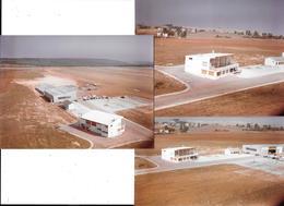 DAROIS (Cote D'Or)  L'AERODROME Et Les AVIONS - Vue Aérienne - 3 Photos Originales Des Années 60-COMBIER CIM Imp à Macon - Aviation