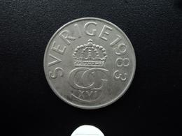 SUÉDE : 5 KRONOR   1983 U    KM 853     SUP - Suède