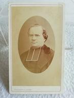 Ancienne Photo Au Format CDV Monseigneur COTTON EN 1875 Religion XIXe Photographe G. MARGAIN & JAGER Grenoble - Personnes Identifiées