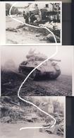 4 Bataille Des Ardennes Décembre 1944. Büllingen Et Chars. Repros - 1939-45