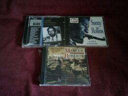 COLLECTION DE 4 CD ALBUM DE JAZZ ° SONNY ROLLINS + HILTON RUIZ QUINTET+ MARCUS ROBERTS + ROBERT NIGHTHWK - Music & Instruments