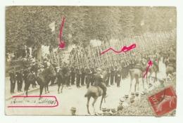 SAINT MAIXENT Carte Photo REVUE DU 14 JUILLET 1907 - Saint Maixent L'Ecole
