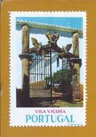 Vinheta Da Porta Dos Nós Do Paço Ducal De Vila Viçosa, Alentejo. Vignette Of The Paço Ducal Of Vila Viçosa, Alentejo. - Emissioni Locali