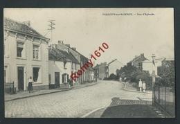 Jemeppe-sur-Sambre. (Namur)  Route D'Eghezée. Animée. Edition Desaix. - Jemeppe-sur-Sambre