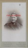 CDV Famille THELLIER- Clémentine FAUCHEUR ép Alphonse THELLIER Mère D'Alphonse Junior-vers 1895 - Foto