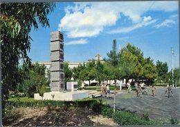 °°° Cartolina N.141 Guglionesi Giardini Publici Monumento Ai Caduti  Viaggiata °°° - Campobasso