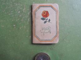 CALENDRIER AGENDA PETIT FORMAT 1918 AU BON MARCHE COMPLET BON ETAT - Small : 1901-20