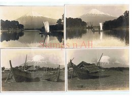 SUPERB COLLECTION OF EARLY JAPAN In 72 High Definition Photographs 14.5 X 9.5 Cm Circa Early 1900s - Places