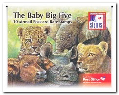 Zuid Afrika 2012, Postfris MNH, The Baby Big Five, Booklet - Boekjes