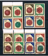 DDR 1988 Siegel Mi.Nr. 3156/59 Kpl. Satz + 4er Block ** + Gestempelt - Neufs