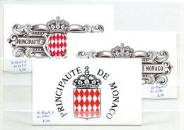 Monaco , Lot With 3  Mint Stampbooklets  (as Per Scans) MNH - Monaco