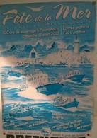 Affiche Fête De La  Mer Ploumanac'h (22)  12 Août 2012 - Affiches