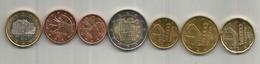 Nouvelle émission Monnaie € EURO ANDORRA,  7  Pièces. Etat Neuf. - Andorre
