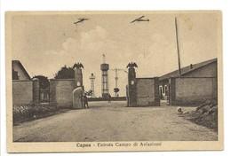 CAPUA - ENTRATA CAMPO AVIAZIONE - Caserta