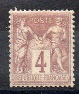 FRANCE - YT N° 88 - Neuf * - MH - Cote: 15,00 € - 1876-1898 Sage (Type II)