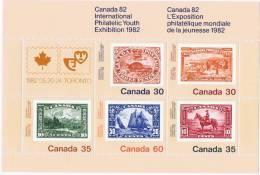 1982  Intrnl Philatelic Youth Exibition  Stamp On Stamp  Sc 913a  MNH ** - 1952-.... Règne D'Elizabeth II