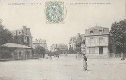 Villers-sur-Mer (Normandie Calvados) Place Du Rond-Point, Villa Sapho - Carte La C.P.A. N° 8 - Villers Sur Mer