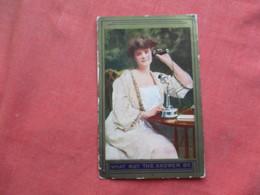 Female On Telephone     Ref 3257 - Fashion