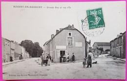 Cpa Nogent En Bassigny Grande Rue Et Rue D'Is Remouleur Rare Carte Postale 52 Haute Marne - Nogent-en-Bassigny