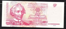 Transnistria 25 Ruble 2000 UNC - Moldova