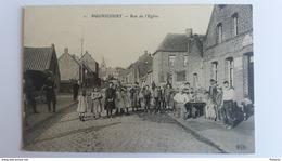 BUGNICOURT Entre Cambrai Et Douai - Rue De L'Eglise Estaminet - Francia