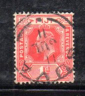 APB31 - FIJI 1905, Edoardo VII Yvert  N.60  Usato   (2380A) . Fil Multi CA - Fidji (...-1970)