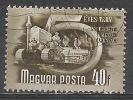 Hungary 1951. Scott #950 (U) Mechanized Agriculture * - Oblitérés