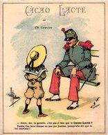4 Chromo Cacao Lacté  De La Ferme Modèle De Vichy Ch. Gravier  Illustr. Guillaume Imprim.Lemercier - Other