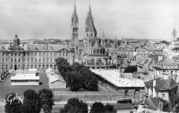 14 - Caen - Un Beau Panorama - L'Eglise St-Etienne - Caen
