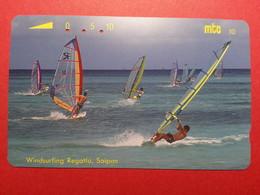 MICRONESIA - MTC Windsurfing Regatta Saïpan CNMI Micronesie Used  (FA0718) Surf Sport - Micronésie