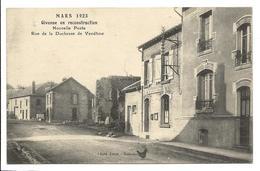 Ardennes GIVONNE EN RECONSTRUCTION Nouvelle Poste Rue Duchesse De Vendôme Souvenir Inauguration  2 Scans .giv - France