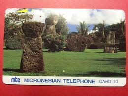 MICRONESIA - MTC Latte Stones Saïpan CNMI Micronesie Used  (FA0718) - Micronesia