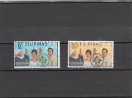 Filipinas Nº 656 Al 657 - Filipinas