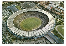 ESTADIO MUNICIPAL DO MARACANA, RIO DE JANEIRO, BRASIL. POSTAL CPA - LILHU - Calcio