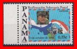 PANAMA  ( AMERICA DEL NORTE )  SELLO AÑO   SELLO AÑO  1984 5º ANIVERSARIO DE LA SOBERANÍA - Panamá