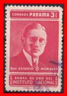 PANAMA  ( AMERICA DEL NORTE )  SELLO AÑO 1959 INSTITUTO NACIONAL - Panamá