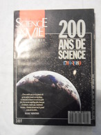 SCIENCE ET VIE HS N°166 DE MARS 1989 - 200 ANS DE SCIENCE - Wetenschap