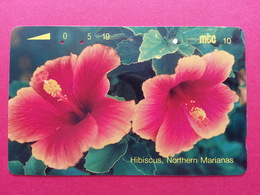 MICRONESIA - MTC 10u Hibiscus Fleur Flower CNMI Micronesie Used (CB1217 - Micronésie