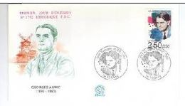 FDC Florent Schmitt 1992. - Booklets