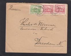 BRIEF VON ROVENSKO NACH DRESDEN,1919. - Covers & Documents